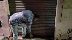 تحرير 15 محضر مخالفة لقرار مواعيد الغلق بكفر الدوار «صور»