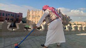 انطلاق حملة لتطهير أسطح المساجد استعدادا لموسم الشتاء في مطروح (صور)