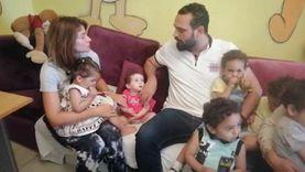 هيدي كرم تزور نزلاء مؤسسة معانا لإنقاذ إنسان: أهلنا ولازم ندعمهم