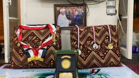 عزاء البطل أحمد إدريس في جمعية النوبة بالإسكندرية