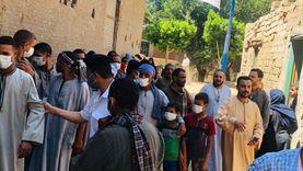 تزايد الإقبال على التصويت بقرية العزية في منفلوط