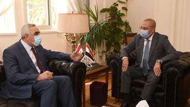 وزير الإسكان يبحث مع السفير العراقي سبل التعاون في مجال البناء