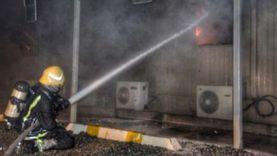حريق محدود في شارع مصطفى النحاس بمدينة نصر