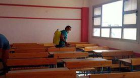 عقل: تعقيم مدارس جنوب سيناء أسبوعيا خلال الإجازة الرسمية