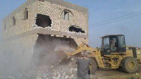 تنفيذ 4110 حالة إزالة على الأراضي في أسيوط