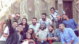 """محمد عز ينشر صورة من كواليس """"بأثر رجعي"""": كرمك يا رب وتوفيقك"""