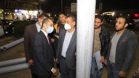 محافظ سوهاج يوجه بتركيب طبقة عازلة لأعمدة الكهرباء لحماية المواطنين