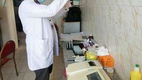 الكشف الطبي على 1451 مواطنا خلال قافلة بالمجان في دمياط
