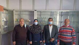 صيدلية مجهزه لمواجهة طوارئ كورونا في امتحانات جامعة المنيا