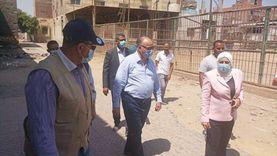 محافظ القاهرة يتفقد أعمال تطوير أسطبل عنتر