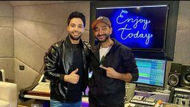 صورة.. أحمد جمال يتعاون مع نادر حمدي في أغنية جديدة