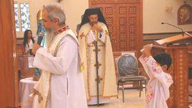 كنيسة مارمرقس بالعبور تستقبل النائب البطريركي في زيارة رعوية