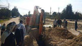 رئيس مياه القناة: أنهينا معاناة ألفي مواطن بمد الشبكة لمنطقة «الإصلاح»