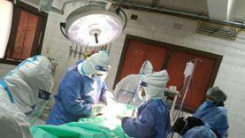 إجراء ولادة قيصرية لمصابة بكورونا بمستشفى سوهاج العام