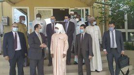 """وزير صحة تشاد يشكر """"زايد"""" ويثني على مبادرة السيسي لعلاج مليون أفريقي"""