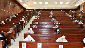 رئيس «كفر الشيخ» عن بداية الامتحانات: «يوم جميل.. والطلاب مشتاقين للجامعة»