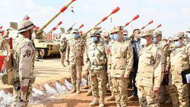 عاجل.. رئيس الأركان يشهد مشروع «أحمس 3» لإدارة المدفعية