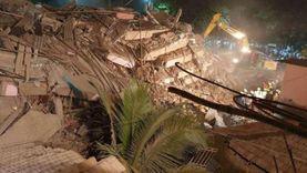 مصرع وإصابة 19 في انهيار مبنى سكني بالهند
