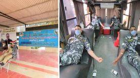حملة للتبرع بالدم بمشاركة ضباط وأفراد شرطة النقل