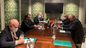 شكري يلتقي بنظيره البرازيلي ومشاركة مصرية في اجتماع دول جوار ليبيا