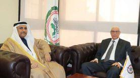 رئيس البرلمان العربي يستقبل الأمين العام المساعد لجامعة الدول العربية