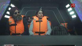 «روسية وسباب وبوسة».. 6 ملاحظات من حلقة رحاب الجمل مع رامز جلال (فيديو)