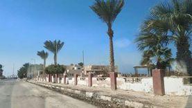 رياح شديدة تضرب عددا من مدن جنوب سيناء