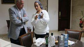 محافظ جنوب سيناء يشهد عينات التعبئة والتغليف لمنتجات سانت كاترين