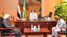 """""""مصطفى"""" اختطف في ليبيا وحررته السلطات.. ومحافظ الفيوم وفر له مشروعا"""