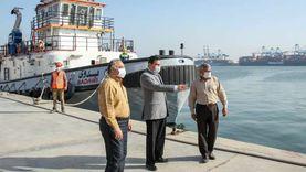 45 ألف طن قمح رصيد مخازن القطاع الخاص بميناء دمياط