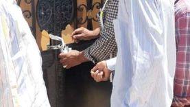 جهاز مدينة العبور يشن حملة للتصدى للإشغالات ومخالفات تغيير النشاط