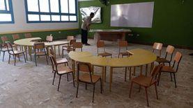 وصول الأثاث للمدرسة المصرية اليابانية بشرم الشيخ استعدادا لافتتاحها