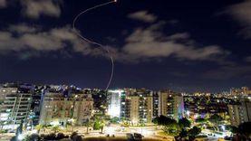 لحظة سقوط صاروخ لفصائل المقاومة على برج سكني في أسدود «فيديو»
