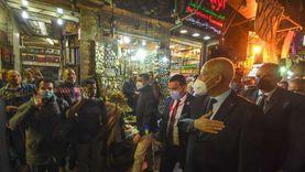 «الوطن» في المعز وخان الخليلي بعد ساعات من زيارة الرئيس التونسي