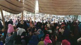إقبال كثيف من الناخبين في جزيرة الكريمات بالجيزة