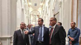 تفاصيل استقبال أعضاء الشيوخ.. الدخول من البهو الفرعوني وتسكين 500 موظف
