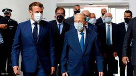 """ماكرون للبنانيين: """"نبكي على ما حدث في بيروت.. ولن نتخلى عنكم"""""""