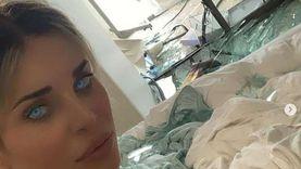 دومينيك حوراني بعد تحطم منزلها: أنا وبنتي انكتبلنا عمر جديد