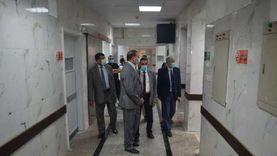 رئيس جامعة سوهاج يتابع الاستعدادت لافتتاح قسم جراحة القلب والصدر