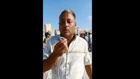 فيديو.. عم ضحية شاطئ النخيل: شادي في أبيار تحت الصخور ومش عارفين نعمل إيه