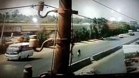خاص الوطن..أول فيديو يسجل لحظة وقوع حادث قطار بنها