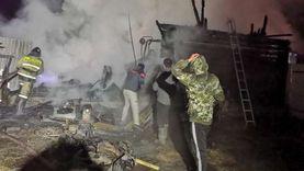 حريقان في روسيا وإيران.. أحدهما يسفر عن مقتل وإصابة 6 أشخاص