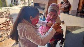 استمرار العمل بحملة التطعيم ضد شلل الأطفال بجنوب سيناء