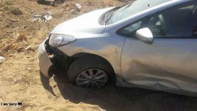 مصرع رجل وزوجته في العياط: العربية «خبطت في حيطة»