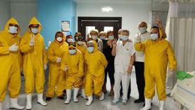 نجاح ولادة قيصرية لسيدة مشتبه في إصابتها بكورونا بمستشفى الأقصر العام