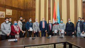  جامعة طنطا تكرم المتميزين في الأنشطة الطلابية