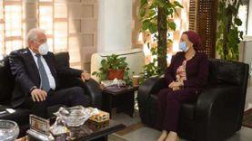 فودة يجتمع مع وزيرة البيئة: نسعى لتحويل شرم الشيخ إلى مدينة خضراء