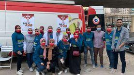 حملة من طلاب صيدلة للتوعية بالتبرع بالدم: هدفنا تحقيق الاكتفاء الذاتي