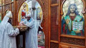 أقباط الإسكندرية يبدأون «الصوم الكبير» بإجراءات احترازية وقداسات يومية