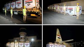 عاجل.. مصر ترسل مواد غذائية وألبان أطفال للسودان على طائرتين عسكريتين